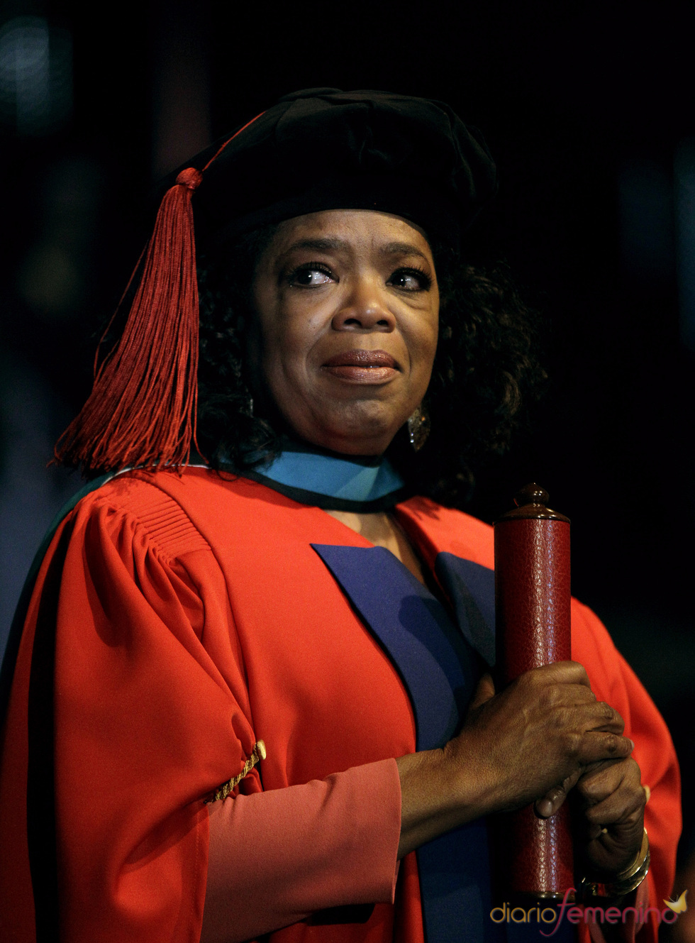 Oprah Winfrey recibe su doctorado honoris causa en Sudáfrica