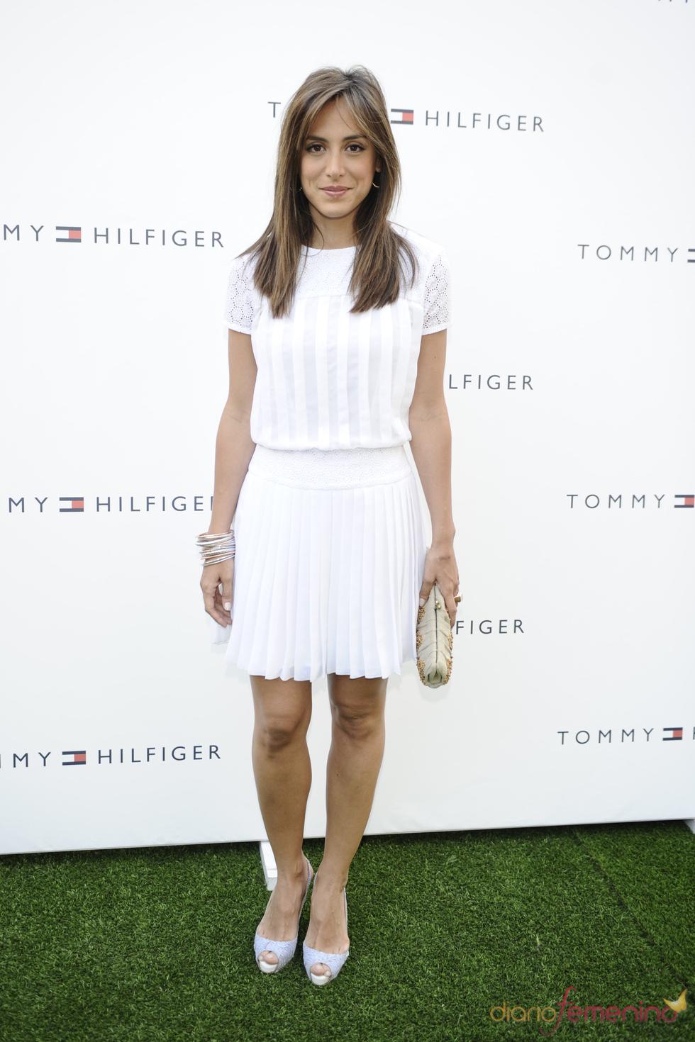 Tamara Falcó en la presentación de la tienda 'Pop Up' de Tommy Hilfiger