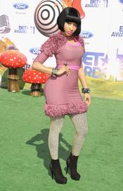 Nicky Minaj a su llegada a los premios BET Awards 2011