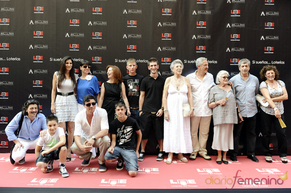 La familia Bardem al completo acude al estreno del Paseo de la Fama de Madrid