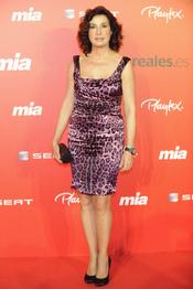 Carmen Martínez Bordiú en la fiesta del 25 aniversario de la revista Mia