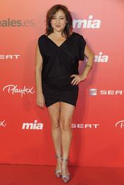Carmen Machi en la fiesta del 25 aniversario de la revista Mia