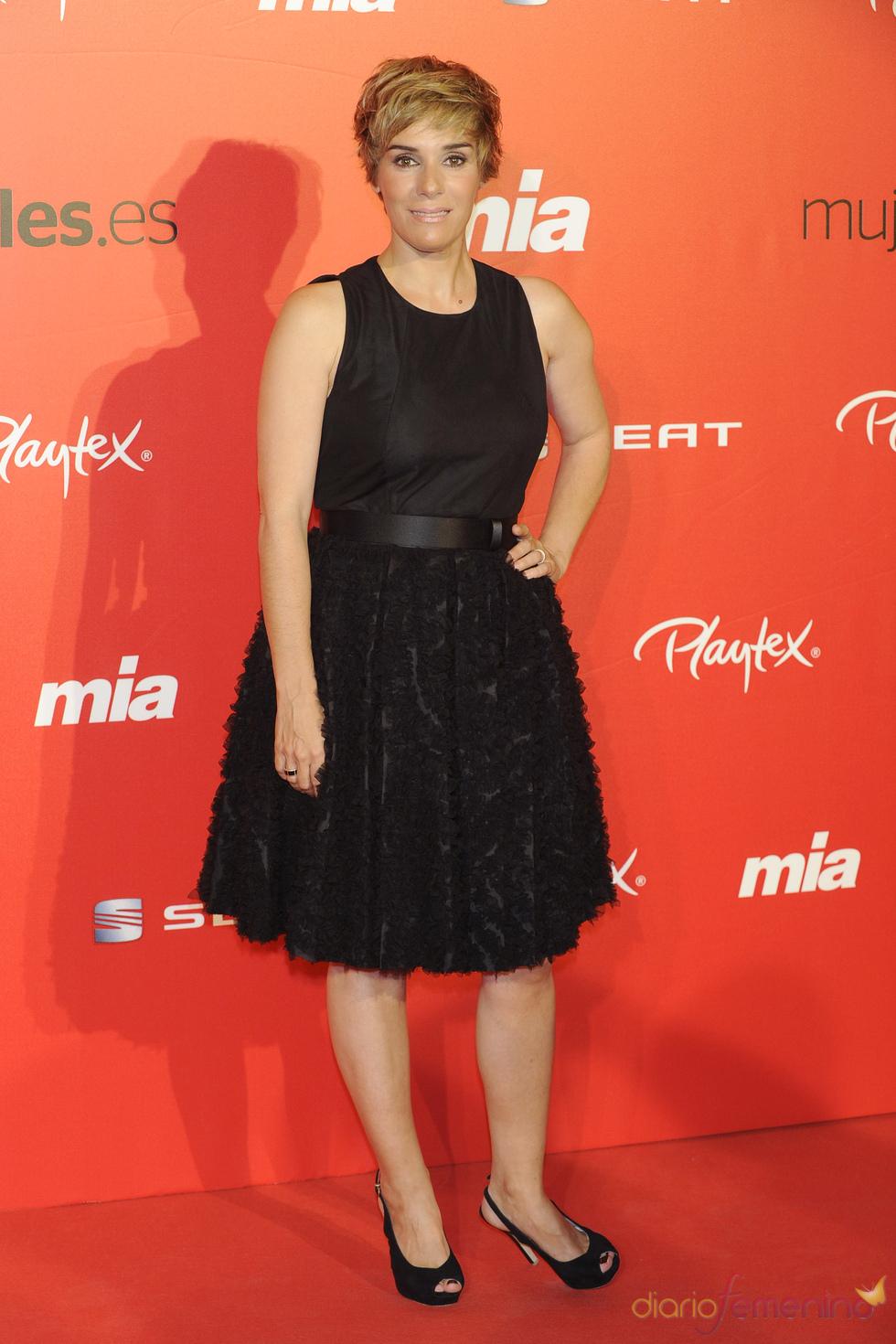 Anabel Alonso en la fiesta del 25 aniversario de la revista Mia
