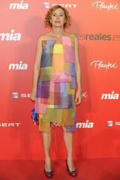 Agatha Ruiz de la Prada en la fiesta del 25 aniversario de la revista Mia