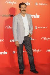 Manuel Bandera en la fiesta del 25 aniversario de la revista Mia