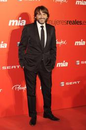 Fernando Tejero en la fiesta del 25 aniversario de la revista Mia