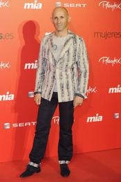 Modesto Lomba en la fiesta del 25 aniversario de la revista Mia