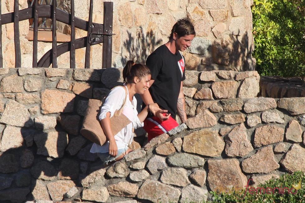 Fernado Torres y Olalla de vacaciones en Cerdeña