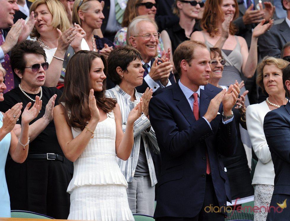 Guillermo de Inglaterra y Kate Middleton acuden al torneo de Wimbledon