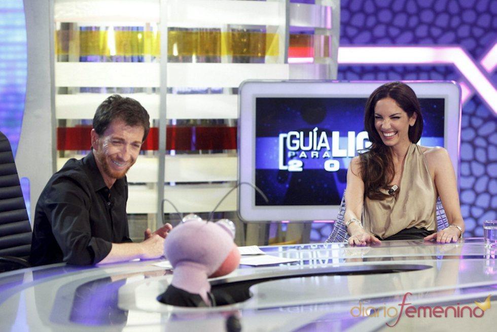 Eugenia Silva visita a Pablo Motos en 'El hormiguero'
