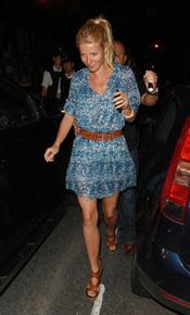 Gwyneth Paltrow en el concierto de Beyoncé en Londres