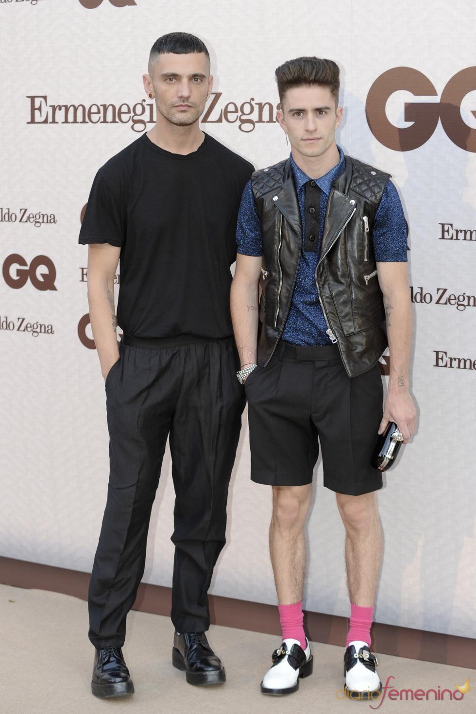David Delfin asiste a los Premios GQ a los Hombres más Elegantes 2011