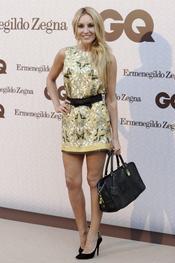 Berta Collado acude a los Premios GQ a los Hombres más Elegantes 2011