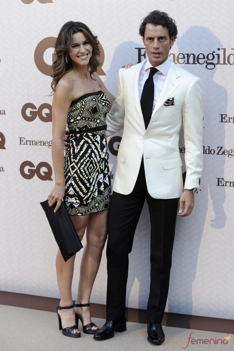 Arancha del Sol y Finito de Córdoba en los Premios GQ Hombres más Elegantes 2011