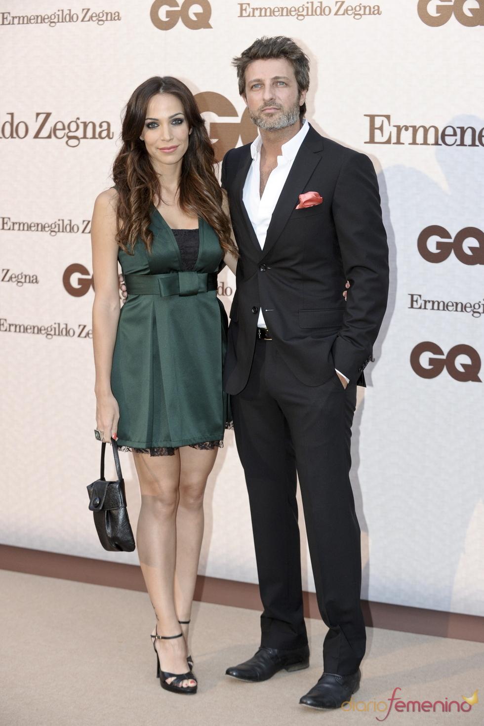 Jesús Olmedo y Nerea Garmendia en los Premios GQ Hombres más Elegantes 2011