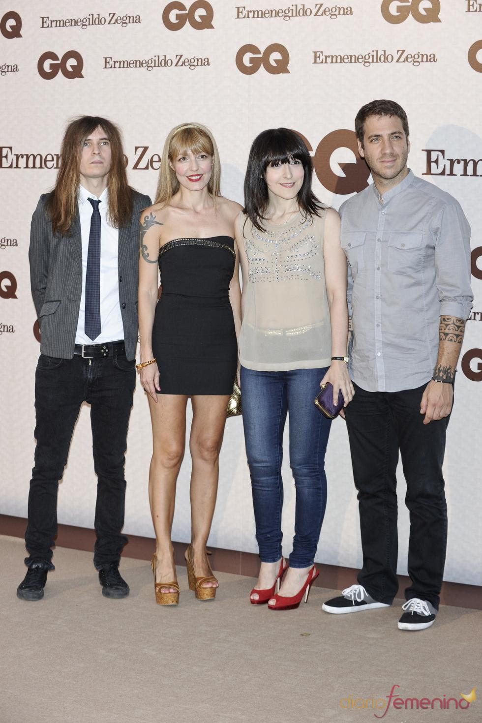 El grupo Dover en los Premios GQ de los Hombres más Elegantes 2011