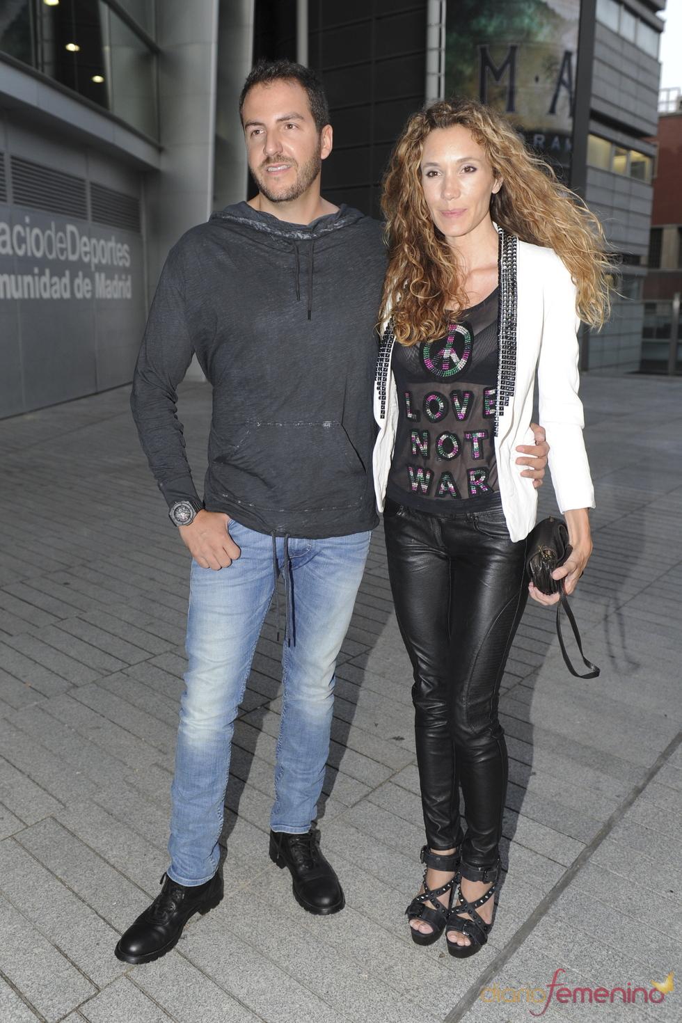 Borja Thyssen y Blanca Cuesta en el concierto de Ricky Martin