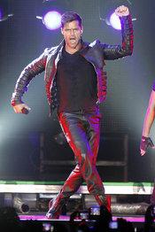 Ricky Martin durante un concierto en Madrid