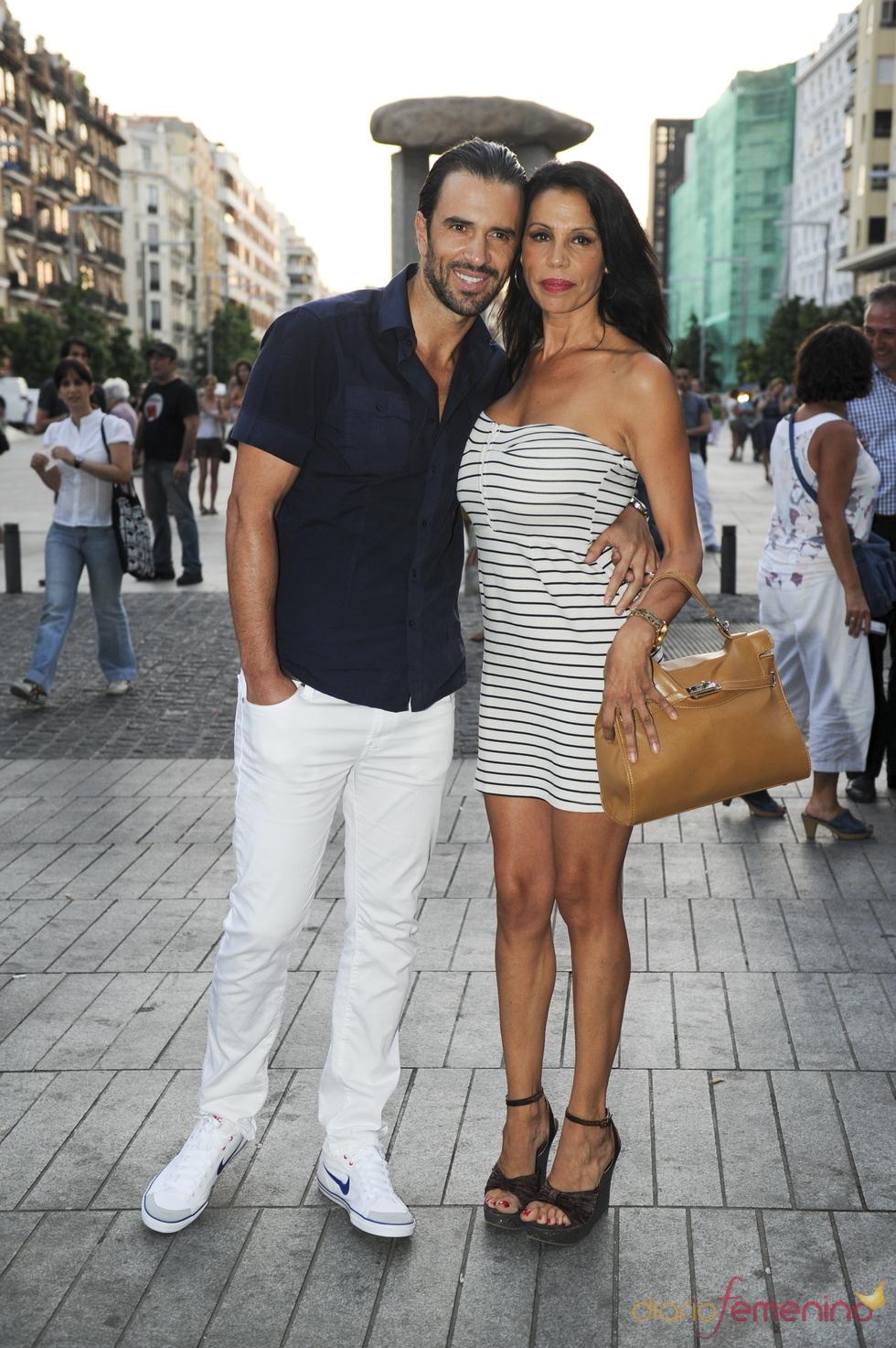 Toñi Salazar y Roberto Liaño en el concierto de Ricky Martin en Madrid