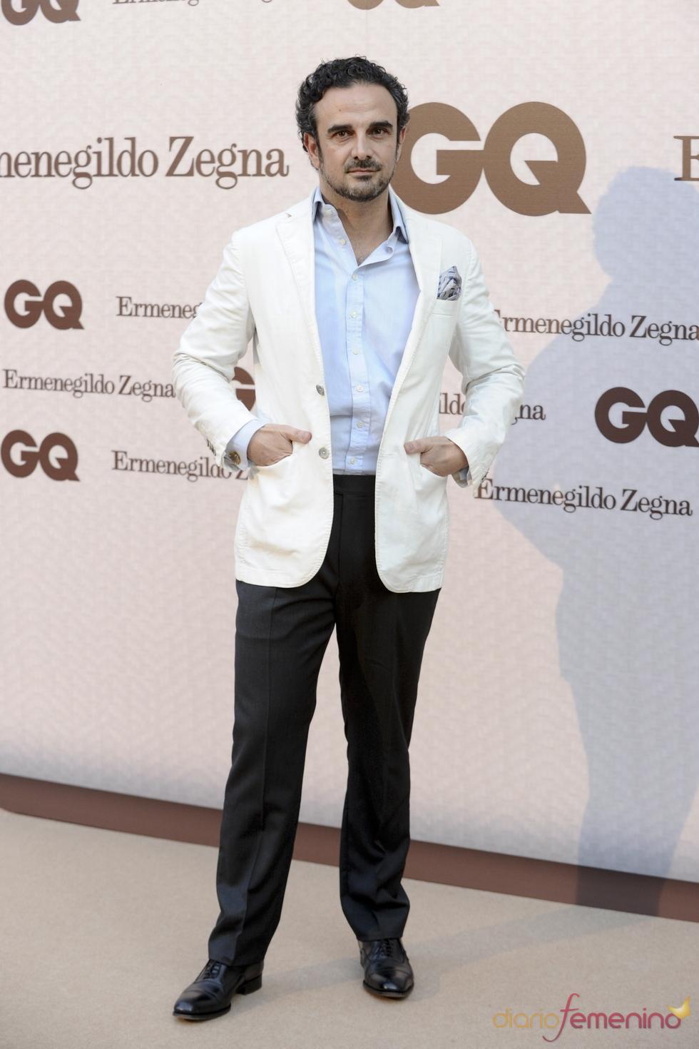 Lorenzo Castillo asiste a los Premios GQ al Hombre más Elegante 2011