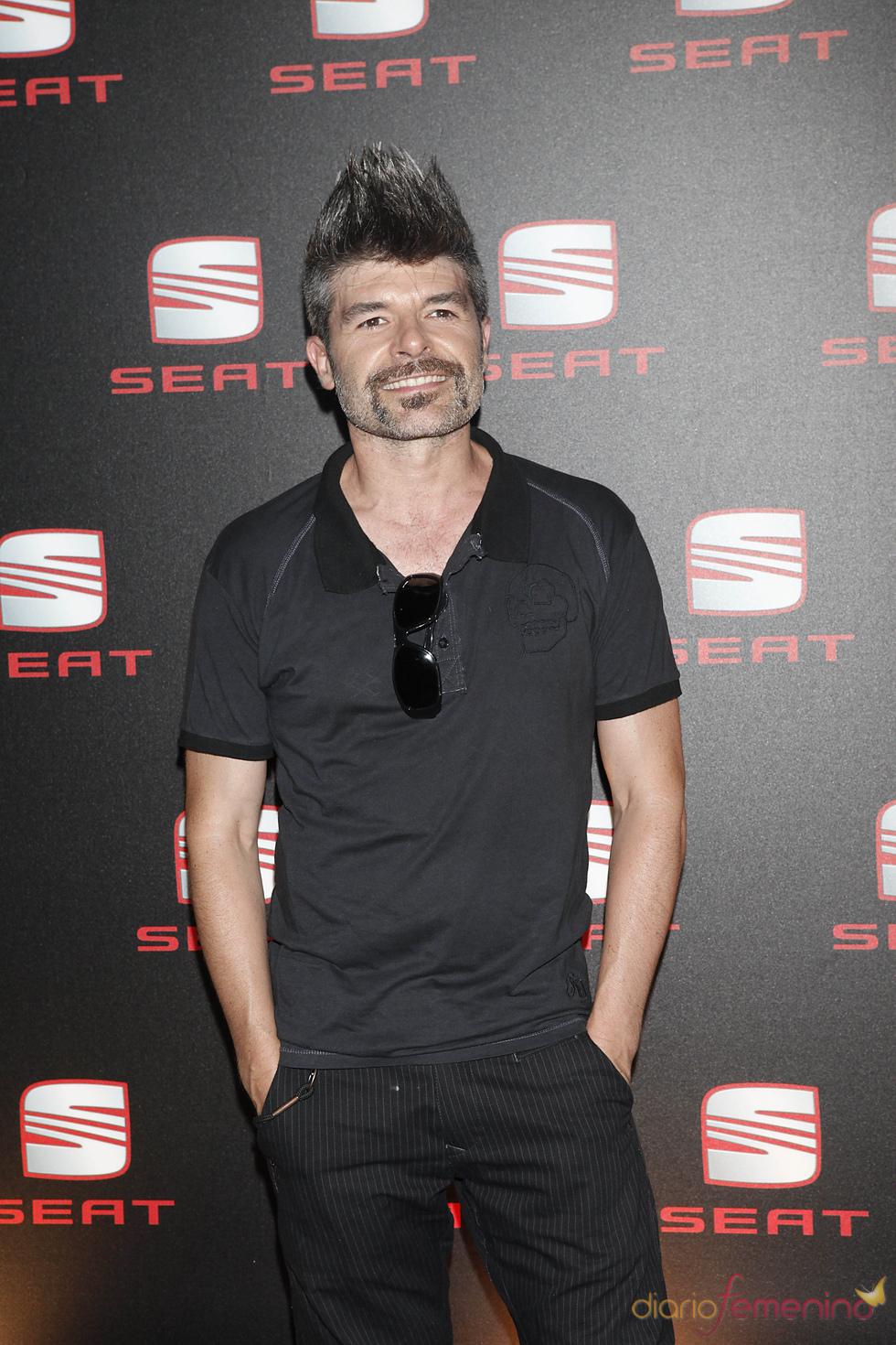 Nacho Guerreros en la presentación de un coche en Madrid