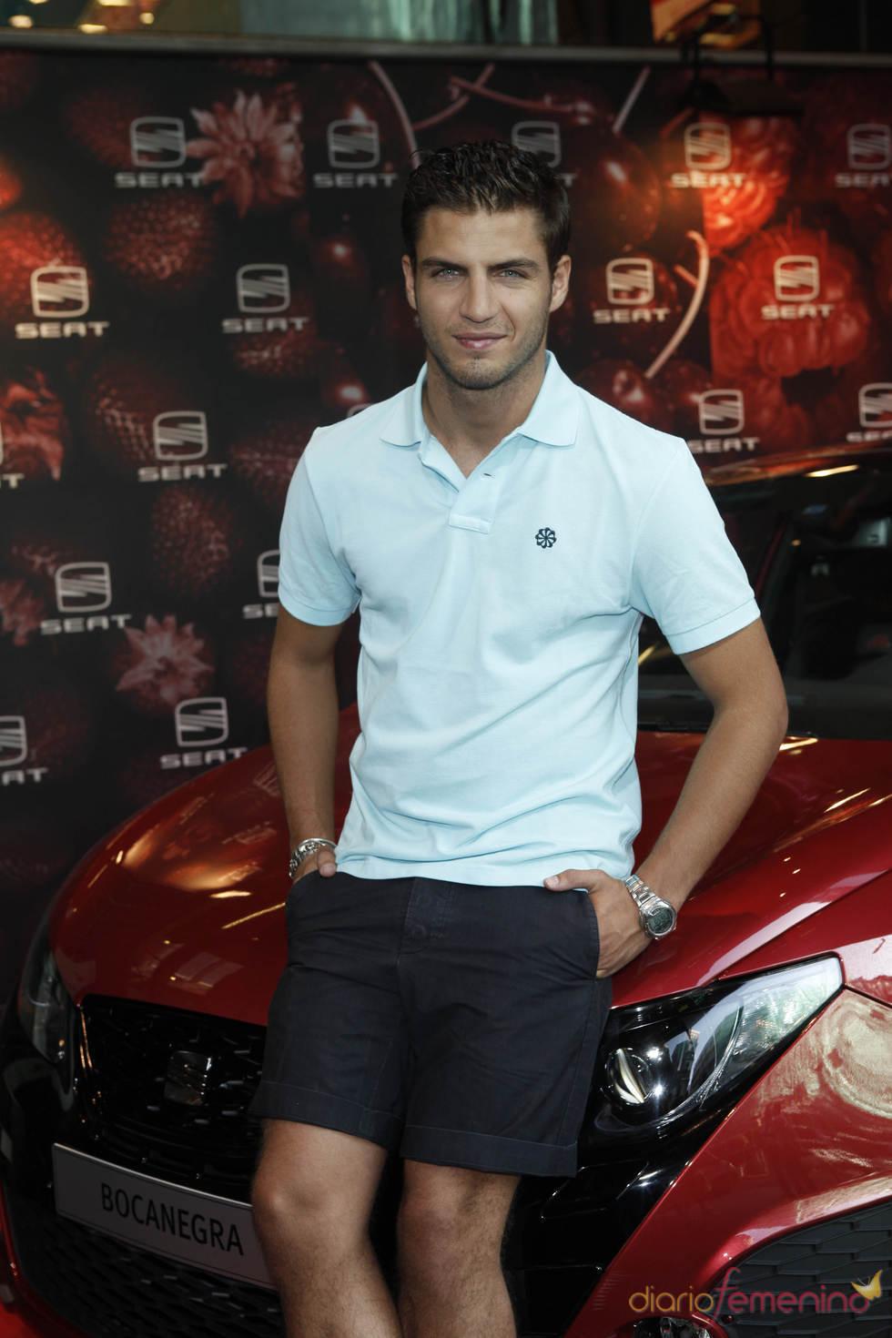 Maxi Iglesias, embajador de un nuevo coche en Madrid