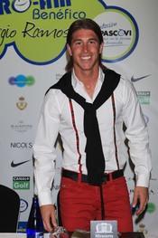 El futbolista del Real Madrid Sergio Ramos