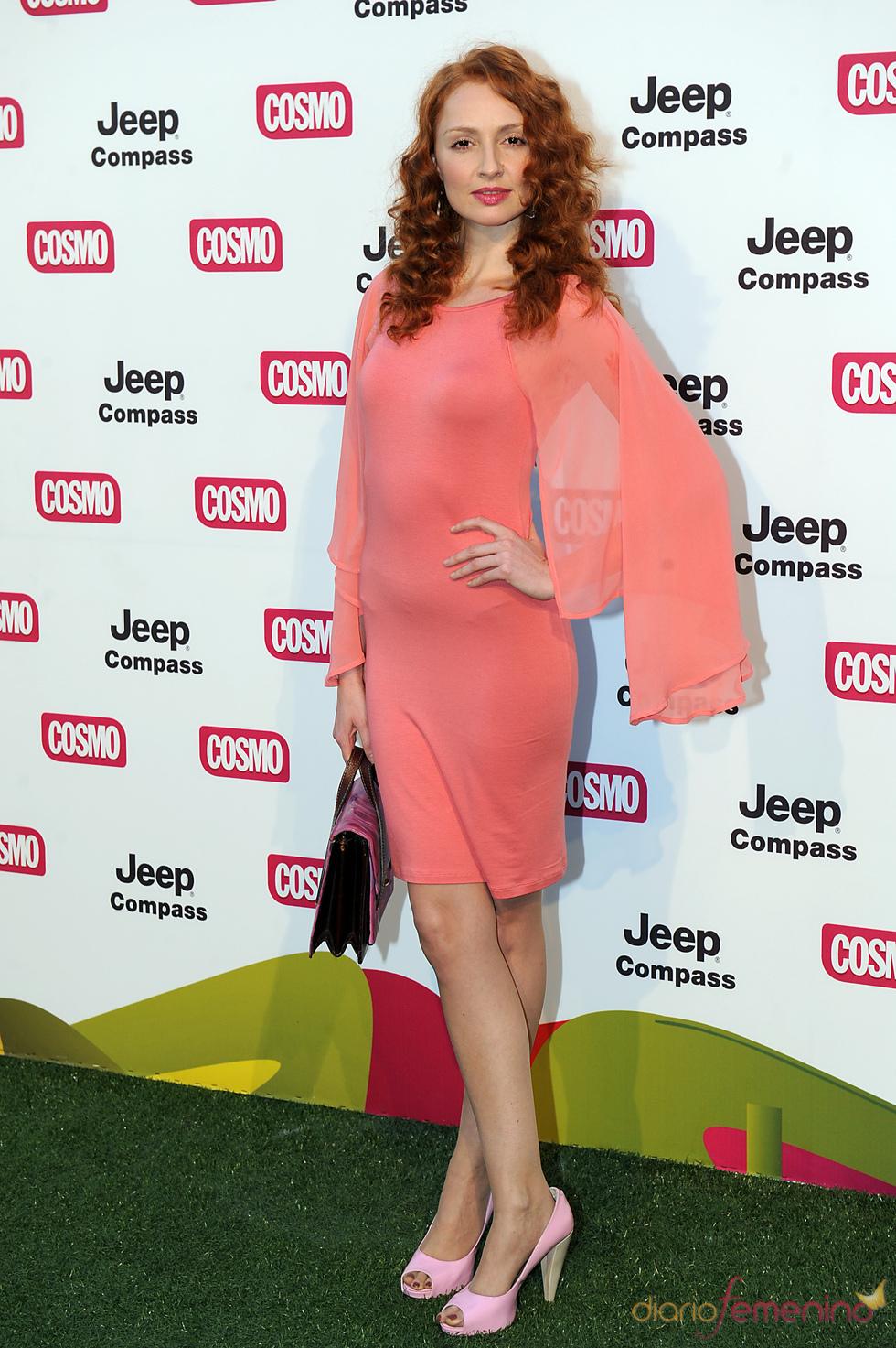 Cristina Castaño en los Premios Pétalo de Cosmopolitan 2011