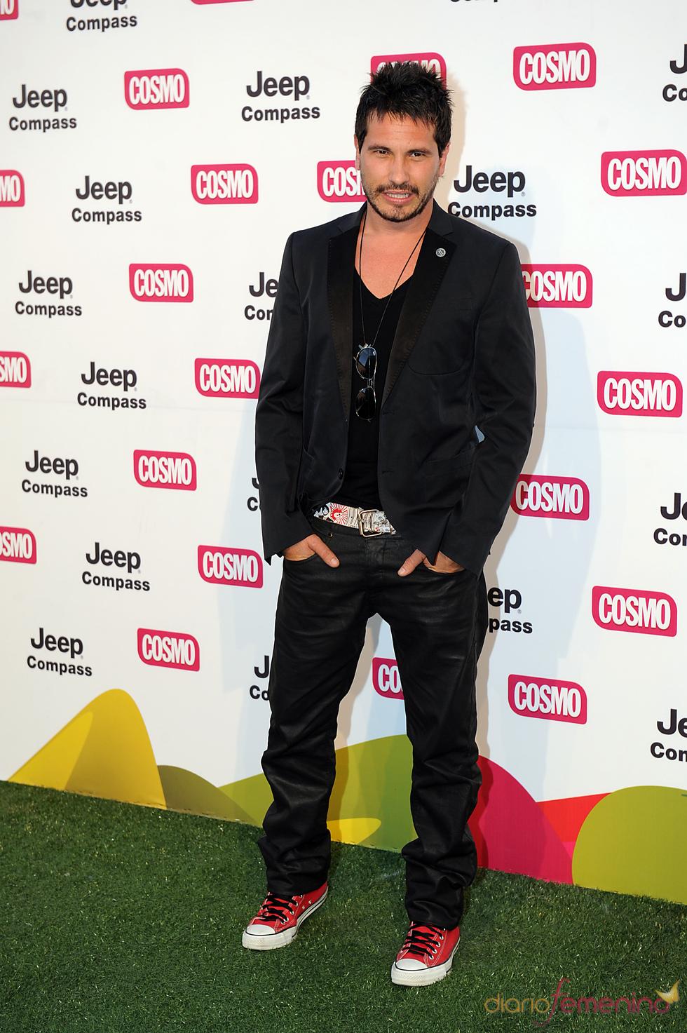David de Maria en los Premios Pétalo de Cosmopólitan 2011