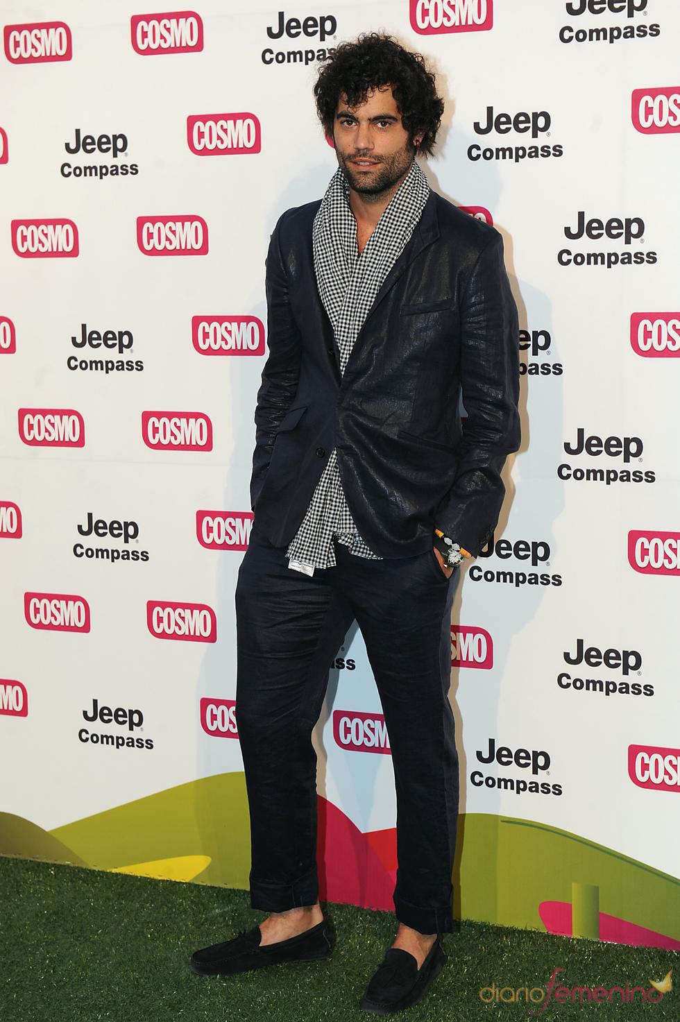 Jordi Mestre en los Premios Pétalo de Cosmopólitan 2011