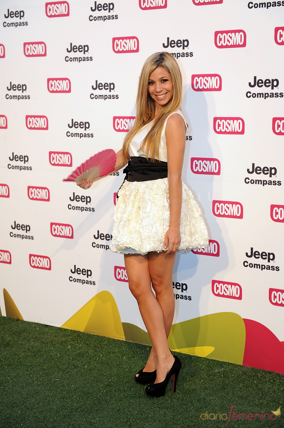 Natalia de OT en los Premios Pétalo de Cosmopólitan 2011