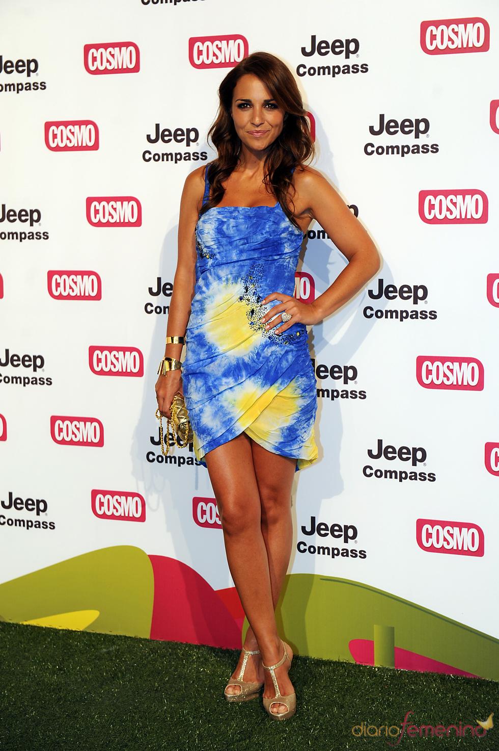 Paula Echevarría en los Premios Pétalo de Cosmopólitan 2011