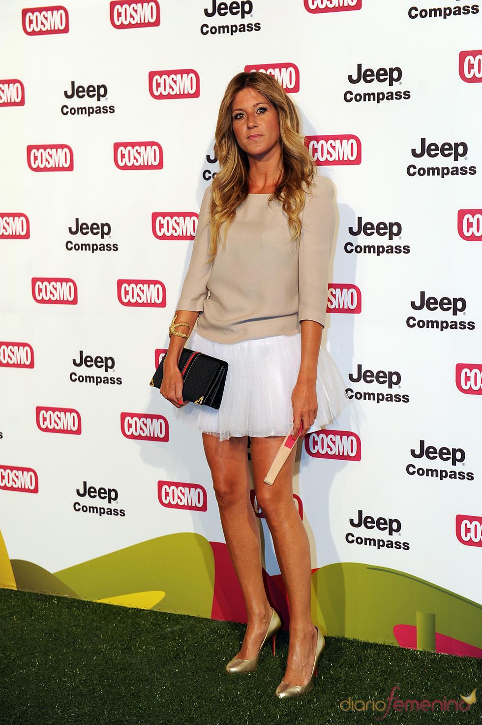 Natalia Álvarez en los Premios Pétalo de Cosmopólitan 2011