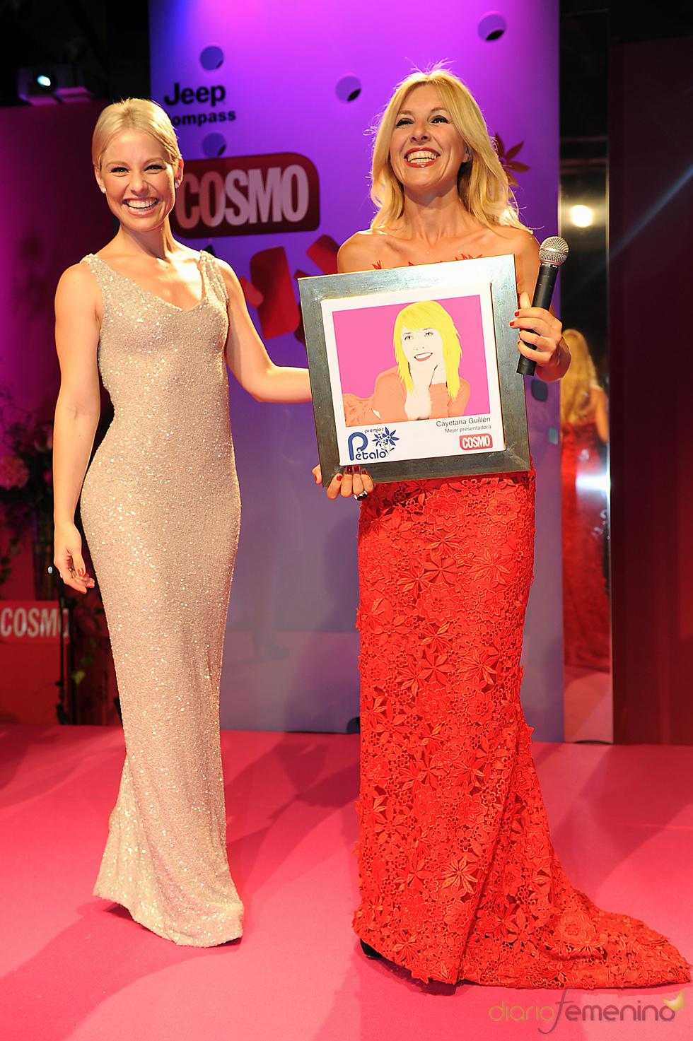 Cayetana Guillén Cuervo recoge su Premio Pétalo de Cosmopólitan 2011