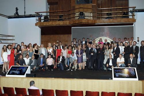 Todos los premiados por la Academia de la Televisión en 2011