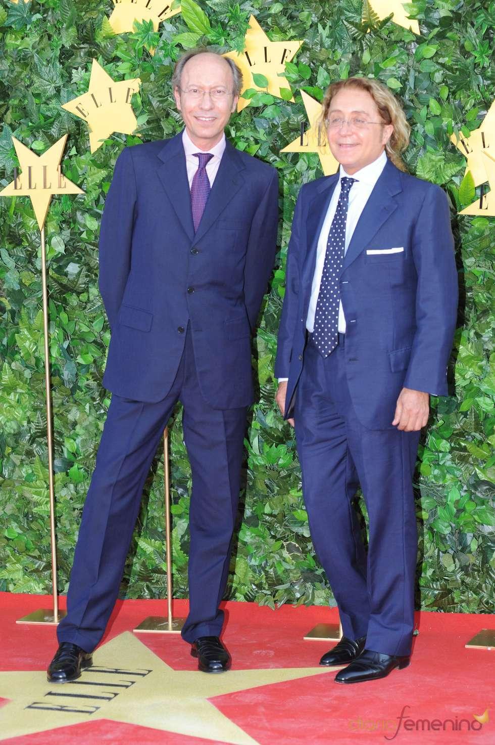Victorio y Lucchino en la Fiesta 25 Aniversario de 'Elle'
