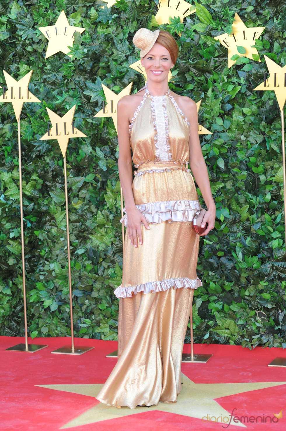 Paula Vázquez en la Fiesta 25 Aniversario de 'Elle'