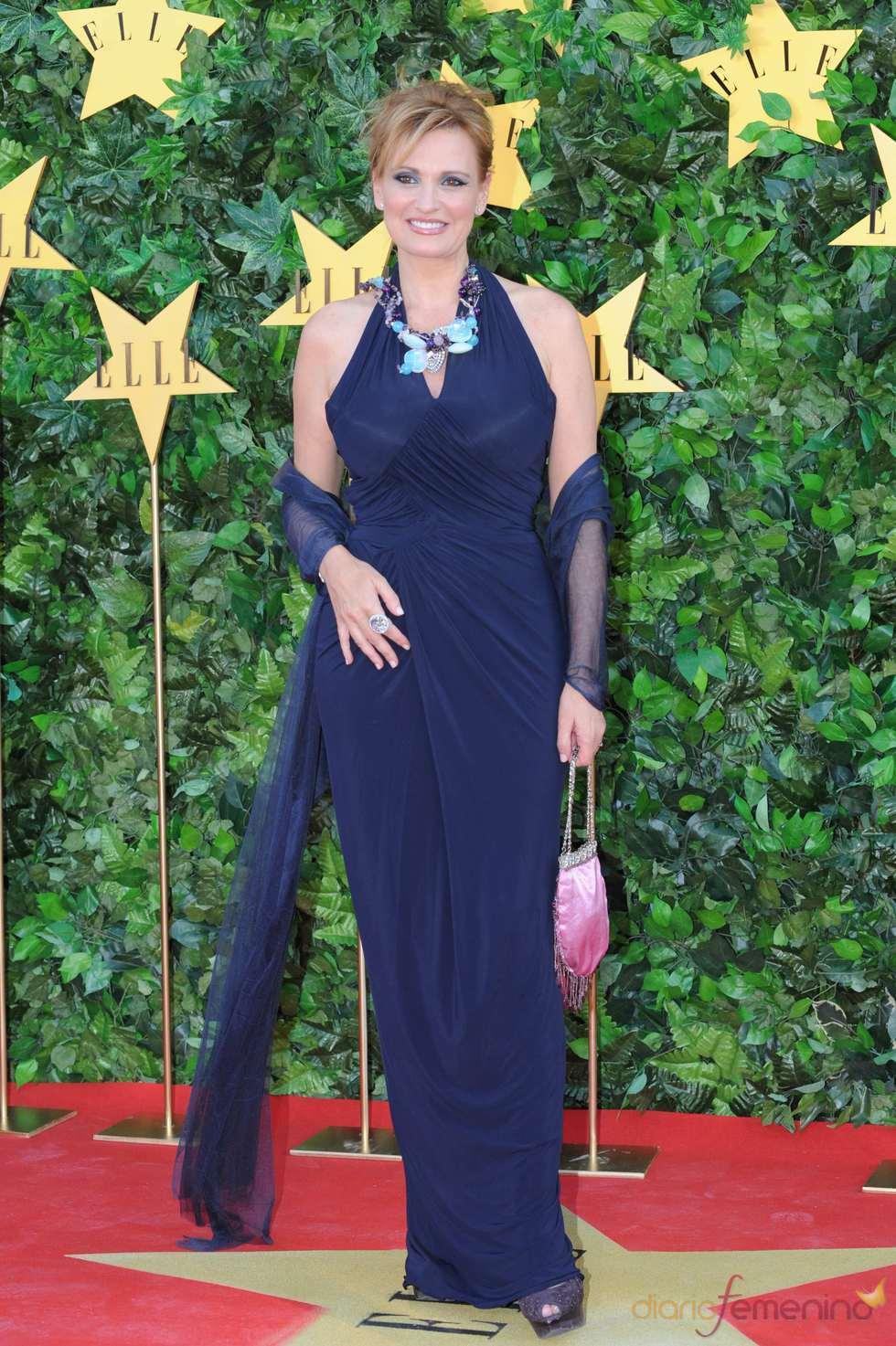Ainhoa Arteta en la Fiesta 25 Aniversario de 'Elle'