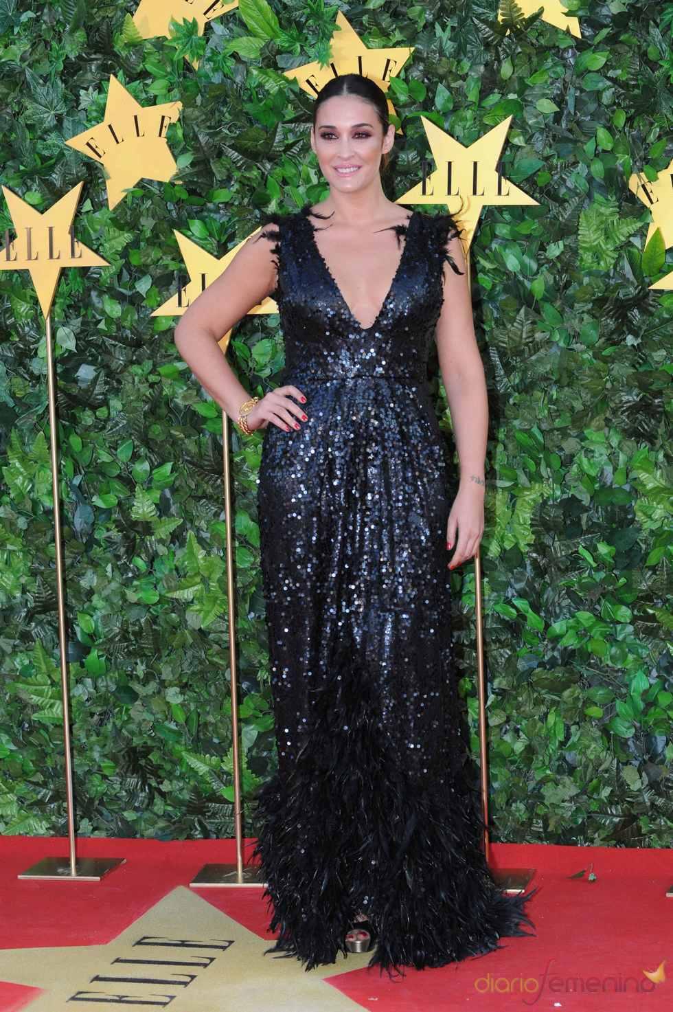 Vicky Martín Berrocal en la Fiesta 25 Aniversario de 'Elle'
