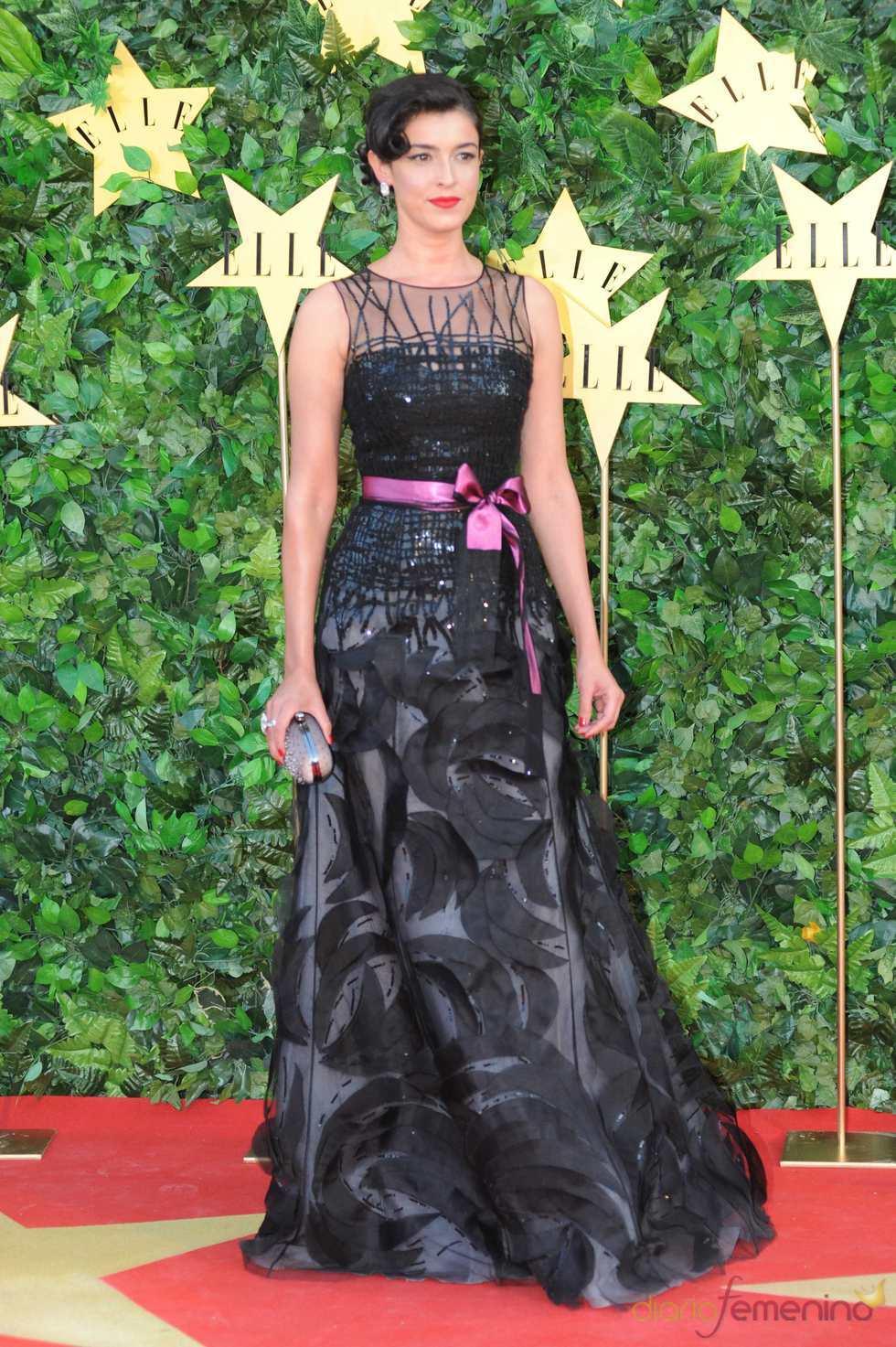 Blanca Romero en la Fiesta 25 Aniversario de 'Elle'