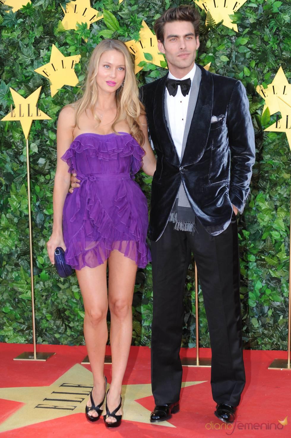Jon Kortajarena y Vanesa Lorenzo en la Fiesta 25 Aniversario de 'Elle'