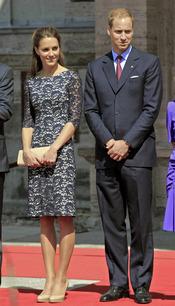 El príncipe Guillermo y Catalina Middleton ya están en tierras canadienses