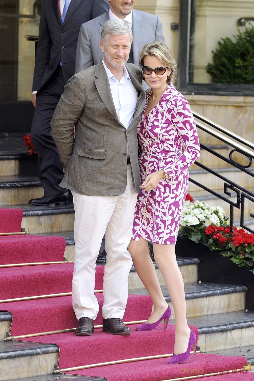 Los príncipes Felipe y Matilde de Bélgica llega a Mónaco para la Boda Real