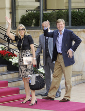 Los príncipes Guillermo Alejandro y Máxima de Holanda llegan a Mónaco para la Boda Real