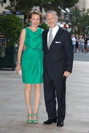 Felipe y Matilde de Bélgica acuden al concierto de Jean Michel Jarre tras la Boda Real civil de Mónaco