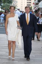 Guillermo Alejandro y Máxima de Holanda acuden al concierto de Jean Michel Jarre tras la Boda Real civil de Mónaco