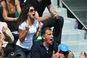Xisca Perelló una victoria de su novio, Rafa Nadal