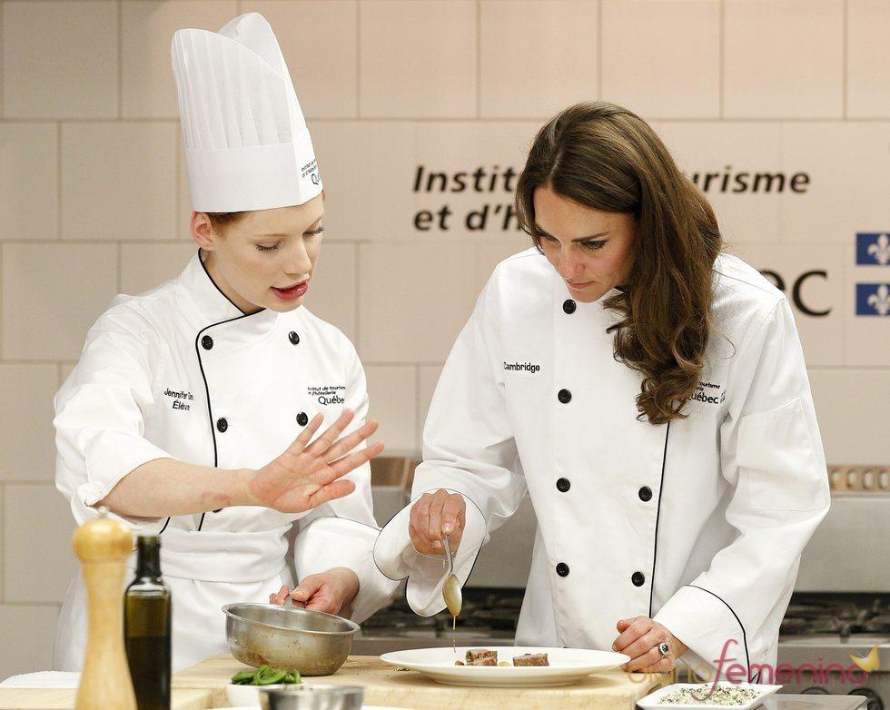 Kate Middleton, cocinera en su viaje oficial a Canadá: en Montreal