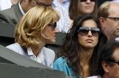 Xisca Perelló sufre viendo jugar a Rafa Nadal la final de Wimbledon