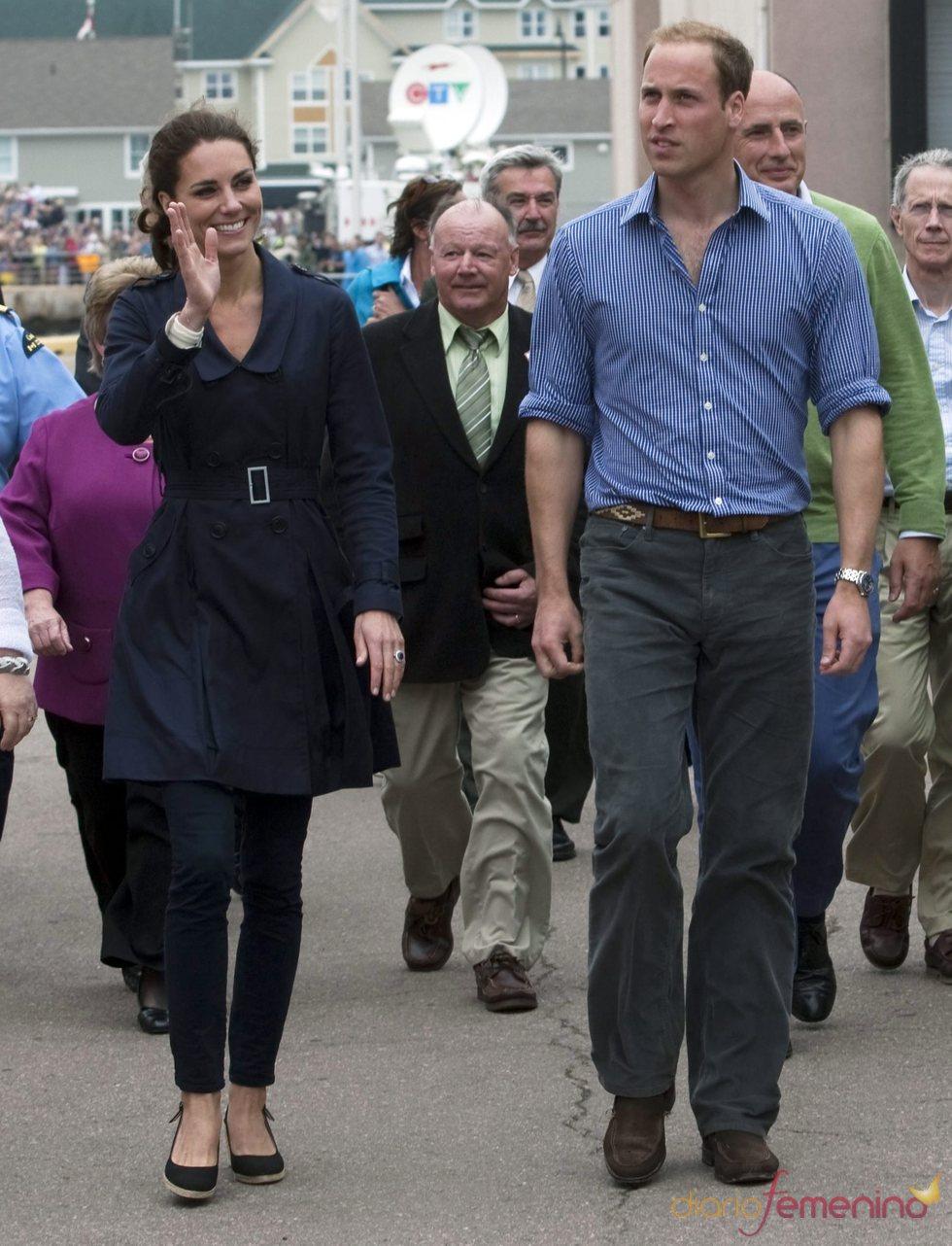 Guillermo de Inglaterra y Kate Middleton llegan a la Isla del Príncipe Eduardo en Canadá